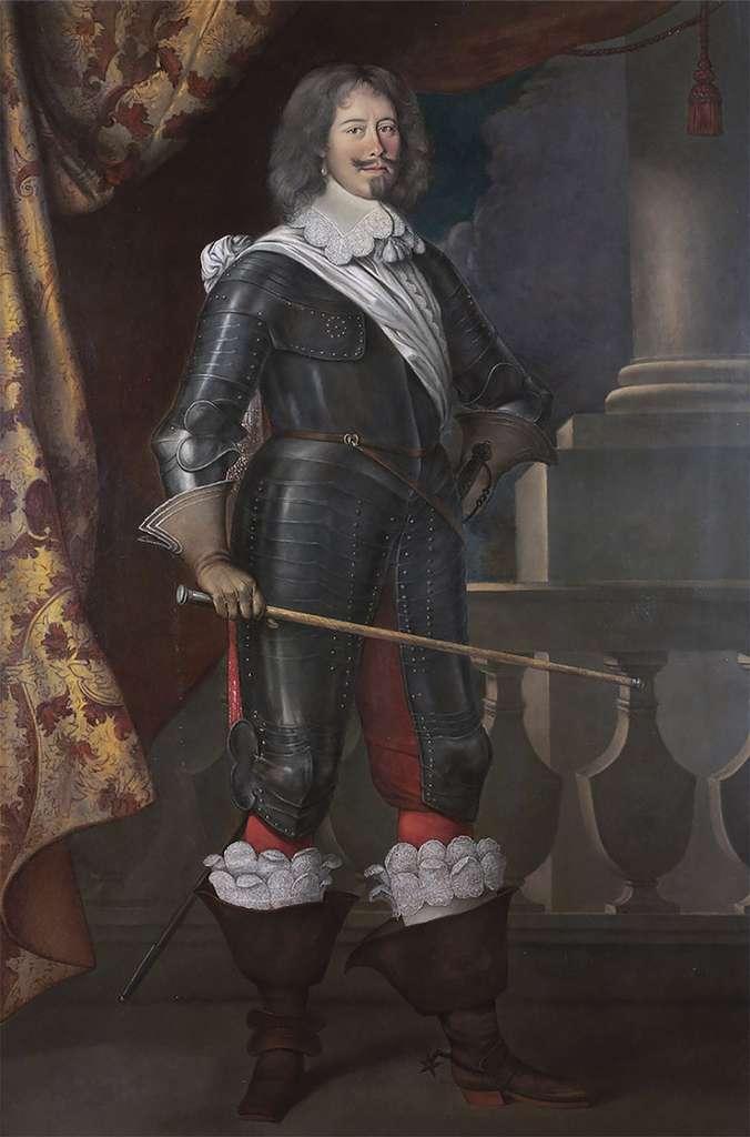 Portrait du comte de Tréville, premier commandant des Mousquetaires du roi, par Louis Le Nain en 1644. Collection privée. © Wikimedia Commons, domaine public