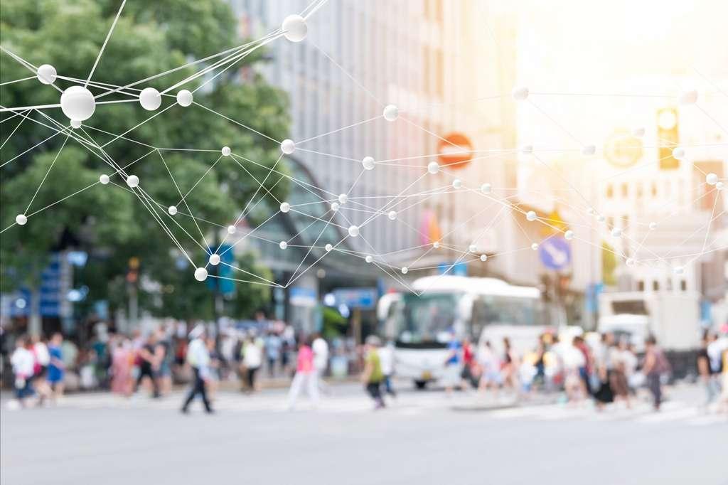 De plus en plus connectée, la smart city sera un Eldorado économique selon les prévisions d'une étude américaine. © zapp2photo, Adobe Stock