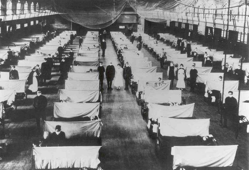 La grippe espagnole avait fait entre 20 et 50 millions de morts au début du XXe siècle. © Jim Forest, Flickr