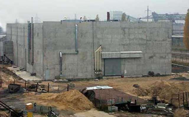 L'installation pour le traitement des effluents liquides. © Tchernobyl NPP, 2006