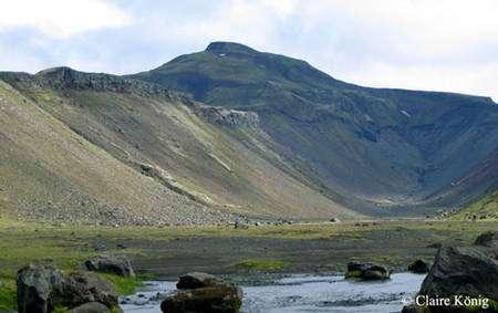Un paysage typique en Islande. © Claire König