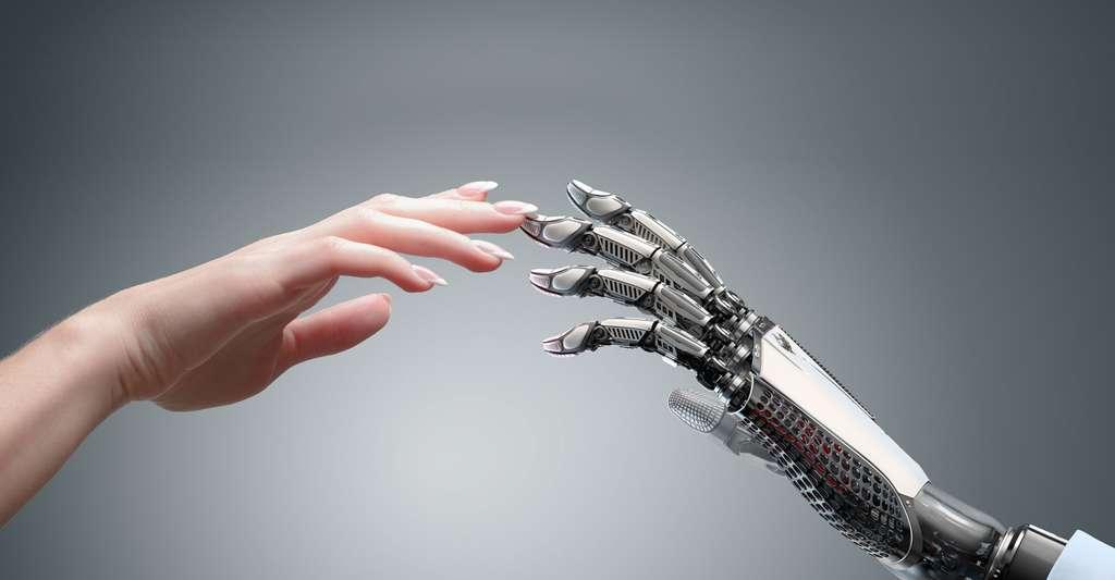 La transmission de l'humain au robot. © Willyam Bradberry - Shutterstock