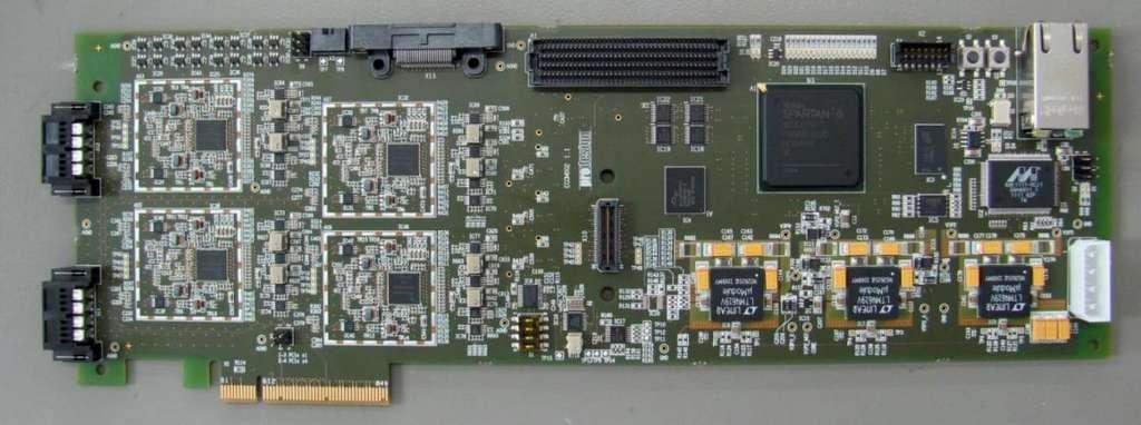 OpenAirInterface développe des réseaux de téléphonie mobile sur des ordinateurs. La carte EXPRESSMIMO2 permet de réaliser son propre réseau. © DP