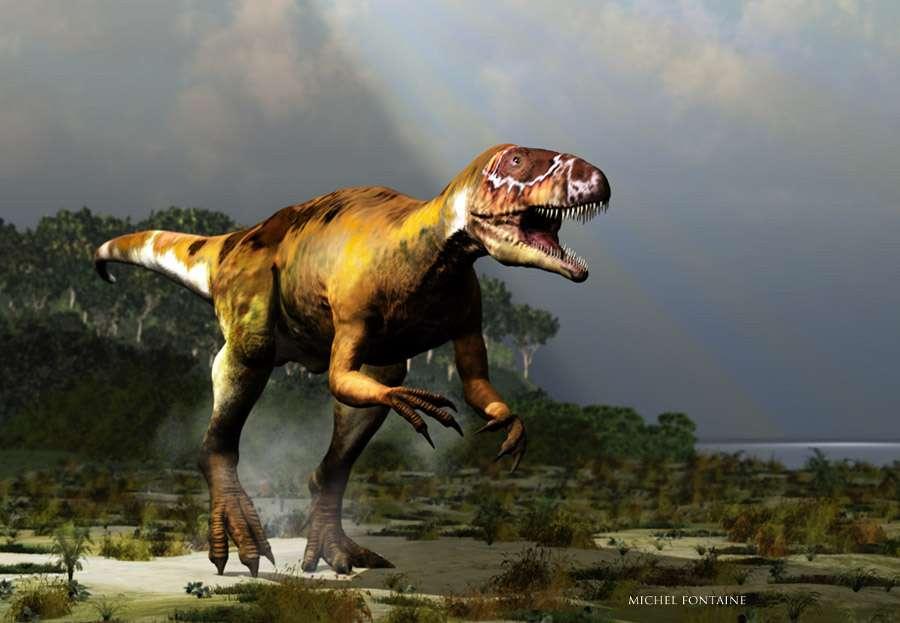 Un dinosaure très réaliste ! © Michel Fontaine
