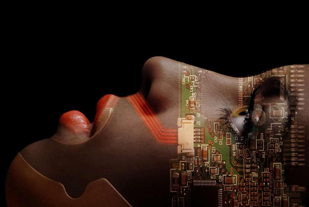 Grâce au test Voigt-Kampff, Rick Deckard découvre que Rachael Rosen est en réalité une androïde. © Arman Zhenikeyev, Fotolia