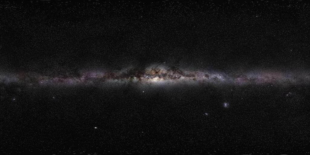 Un magnifique panorama de la Voie lactée