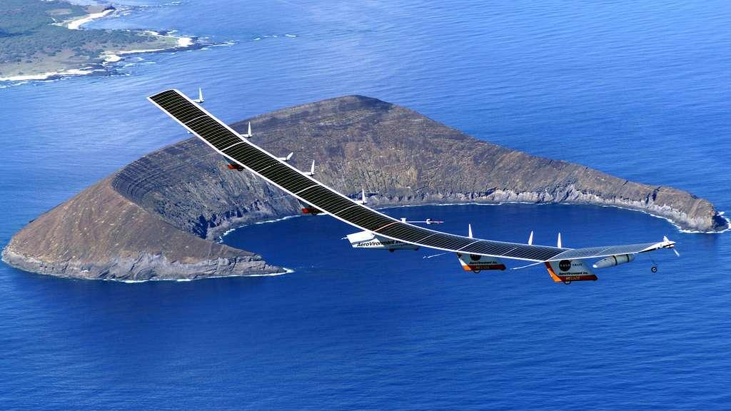 L'avion solaire Helios de la Nasa