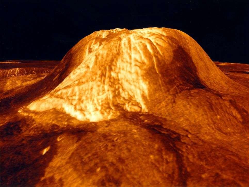 Le volcan Gula