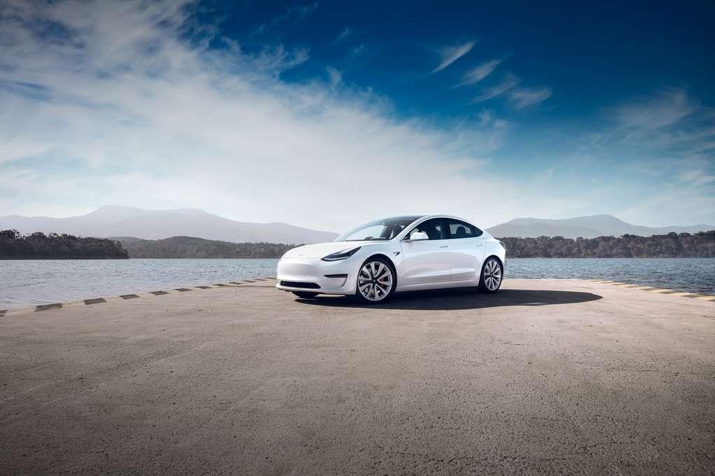 La Tesla Model 3 vendue en Chine pourrait bientôt devenir nettement moins chère. © Tesla