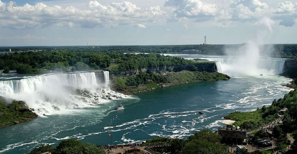 Chutes du Niagara. © Saffron Blaze, Wikimedia, CC by-sa 3.0