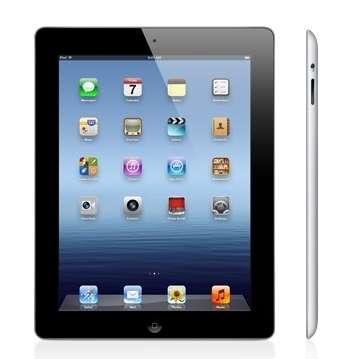Le « nouvel iPad » reprend exactement le même design que l'iPad 2 mais il est légèrement plus épais et plus lourd. © Apple
