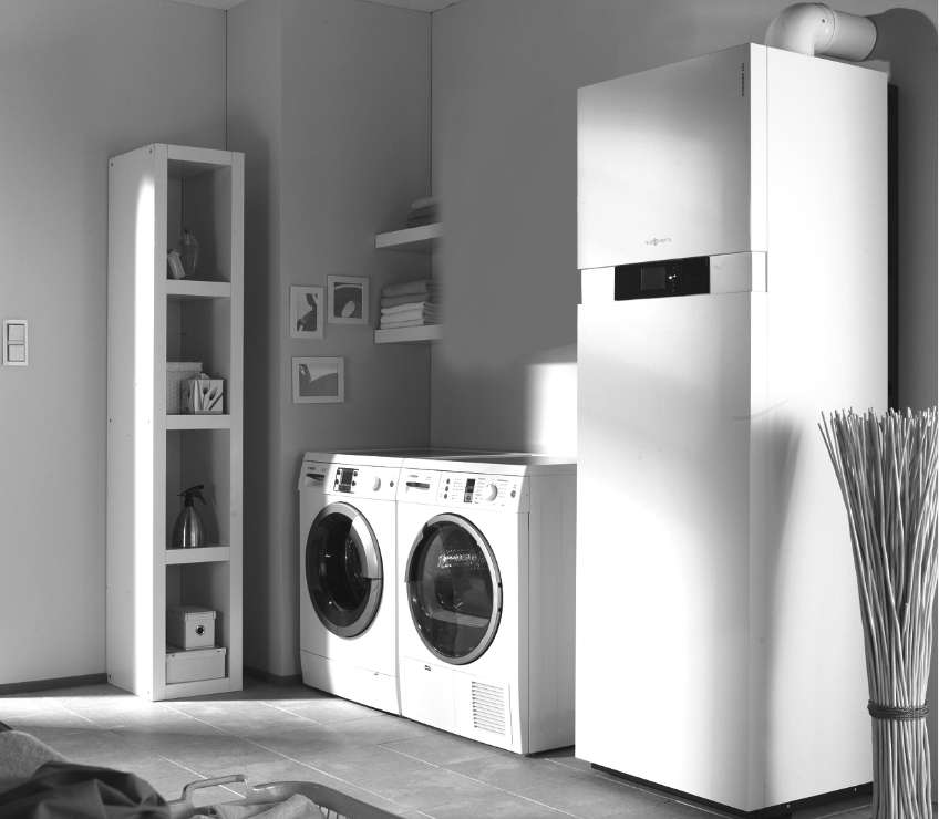 Le chauffage au gaz peut être obtenu à l'aide d'une chaudière à condensation, une chaudière hybride et un éco-générateur. © DR