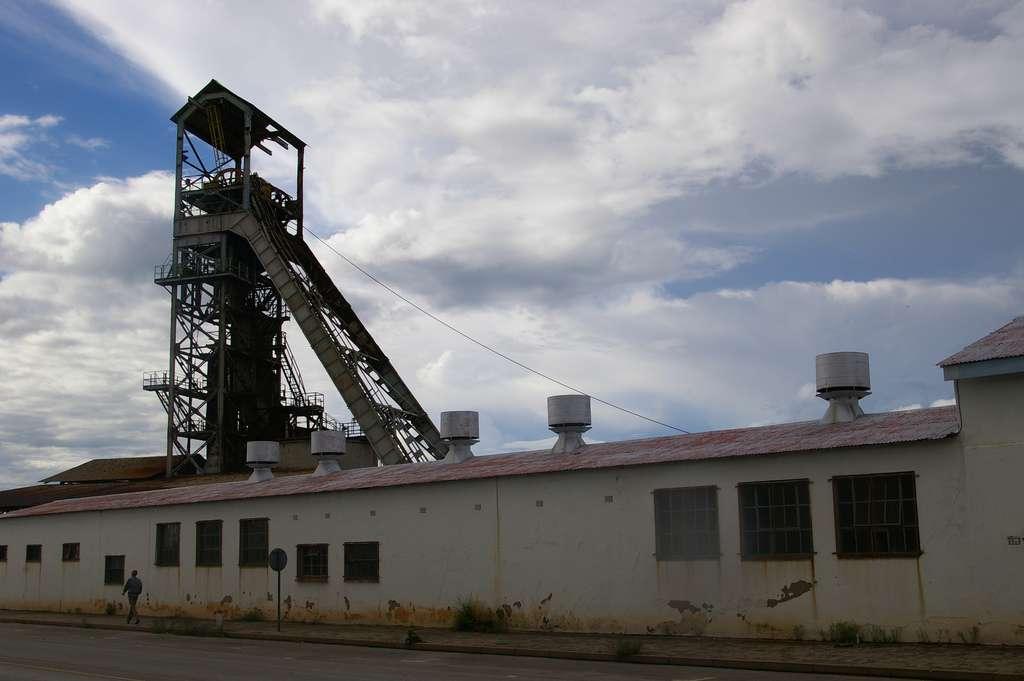 La mine de Tsumeb est aujourd'hui fermée. © Potjie, Flickr, CC by-nc-sa 2.0