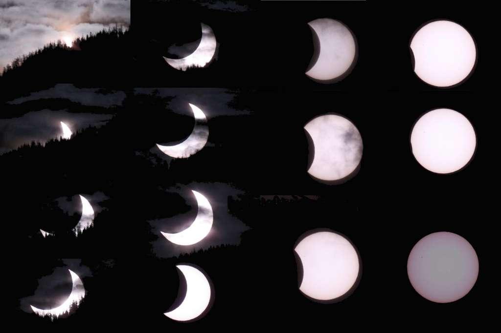 Une merveilleuse éclipse partielle