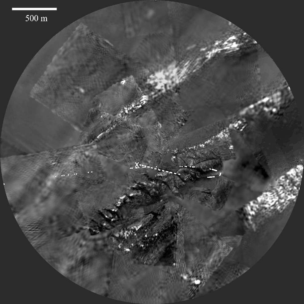 Surface de Titan