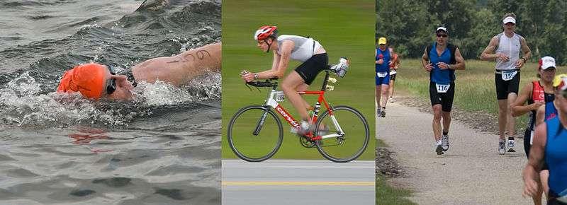 Le triathlon est une discipline sportive consistant en l'enchaînement de trois épreuves : natation, cyclisme et course à pied. Cette année, au cours du triathlon de Geraldton (Australie), un drone a blessé une athlète. Était-ce l'œuvre d'un pirate ? L'enquête est lancée… © Wikimedia Commons, DP