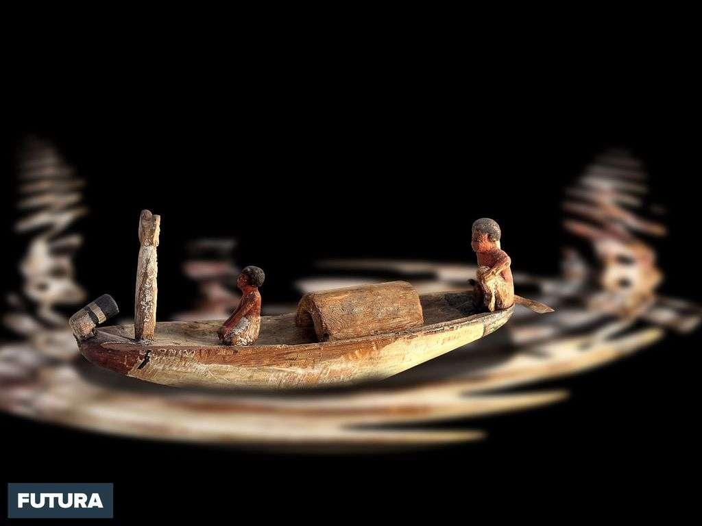 Barque funéraire, Moyen Empire, 12ème dynastie (1990-1786 av. J-C)