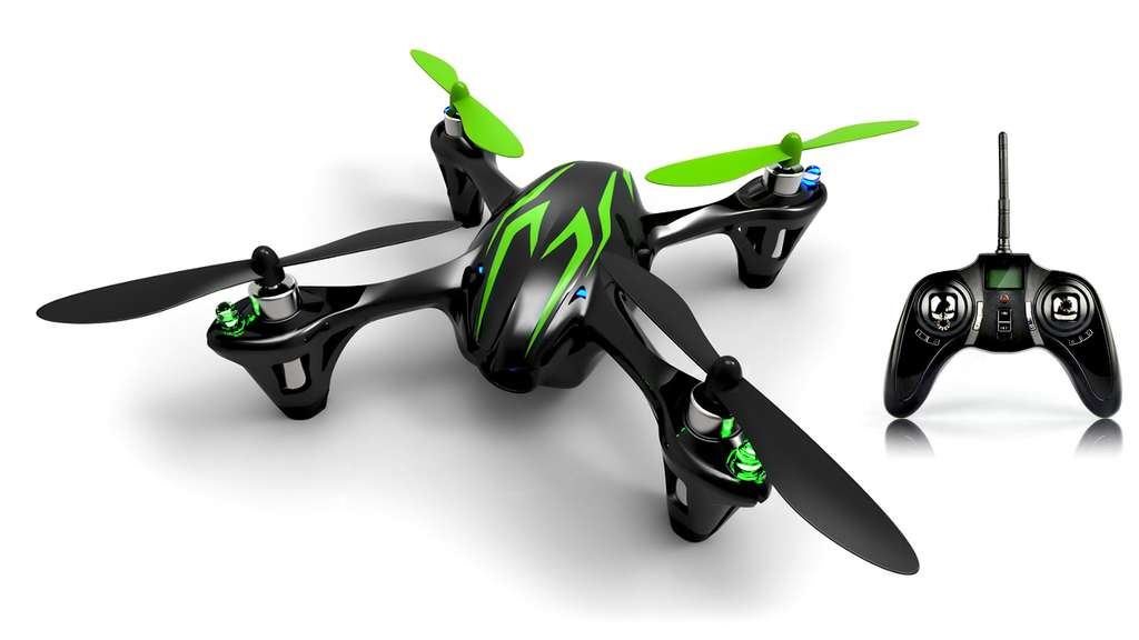 Un mini drone pour s'amuser, Hubsan X4 H107C