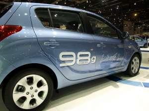 Le système Stop & Go de la Hyundai i20 Blue Drive réduit les émissions de ce modèle à 98 g de CO2/km. © Relaxnews