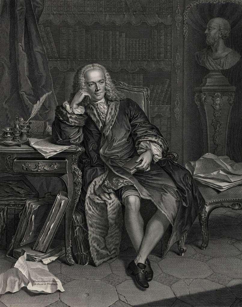 Portrait de François Quesnay, gravure de Jean-Georges Wille, fin XVIIIe siècle. © Wikimedia Commons, domaine public.