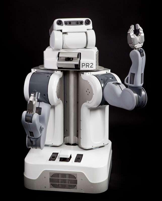 Figure 3. Le robot de service PR2, fabriqué par la société Willow Garage. © Courtesy of Willow Garage