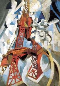 Delauney la tour rouge