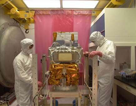 Les méthodes actuelles de stérilisation des sondes et satellites ne semblent pas venir à bout de toutes les bactéries (Crédits : www.bu.edu)