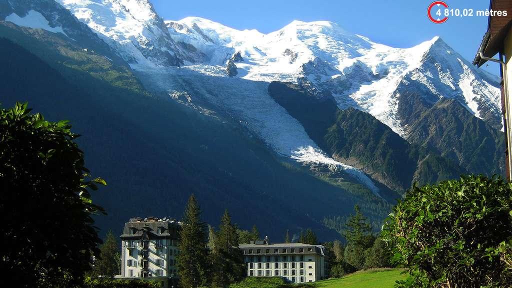 Le mont Blanc, le « Toit de l'Europe »