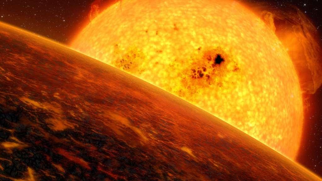 L'exoplanète Corot-7b