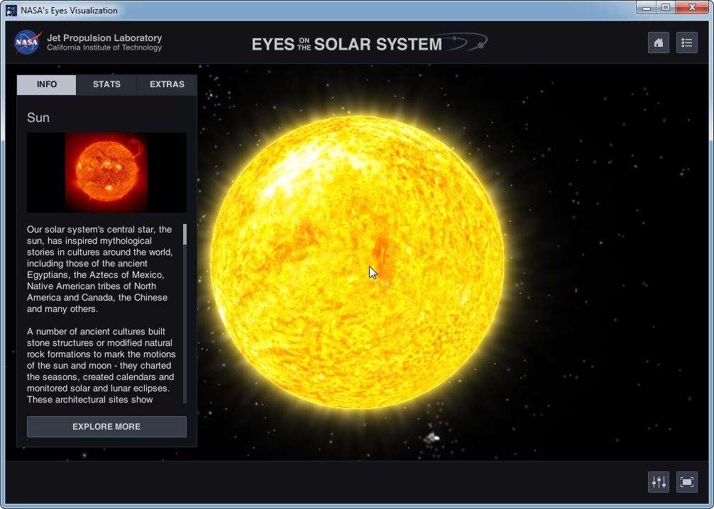 Les dernières informations de l'agence spatiale américaine en direct. © Nasa