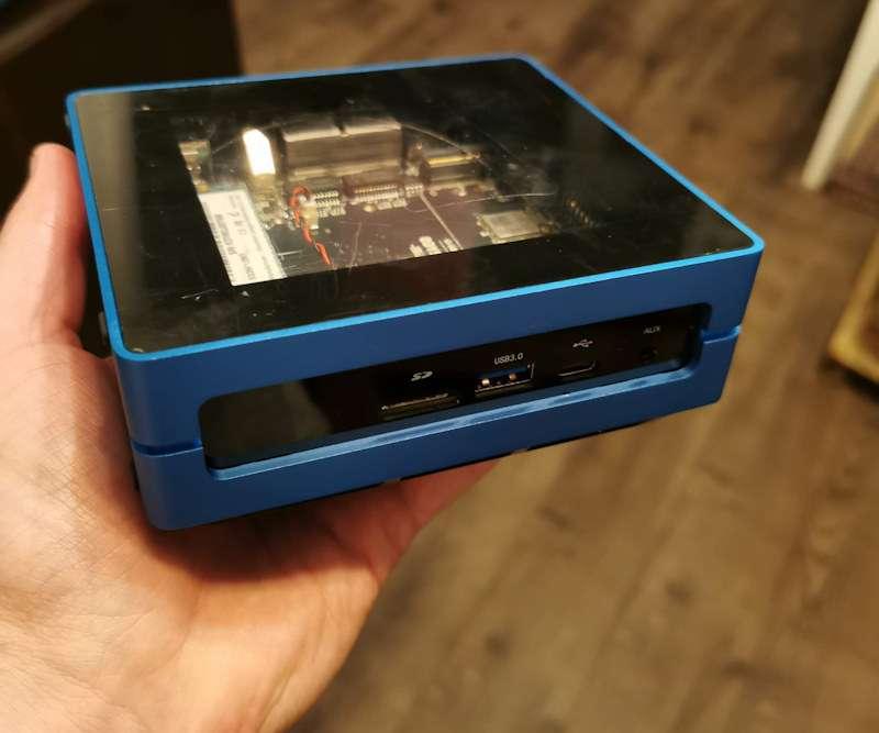 Voilà un ordinateur de bureau que l'on peut emporter partout. © Futura