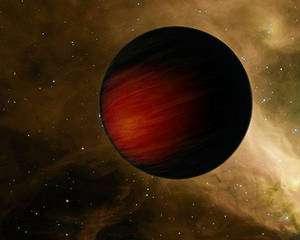 HD 149026b (représentation artistique) Credit: NASA/JPL-Caltech/H. Knutson (Harvard-Smithsonian CfA)