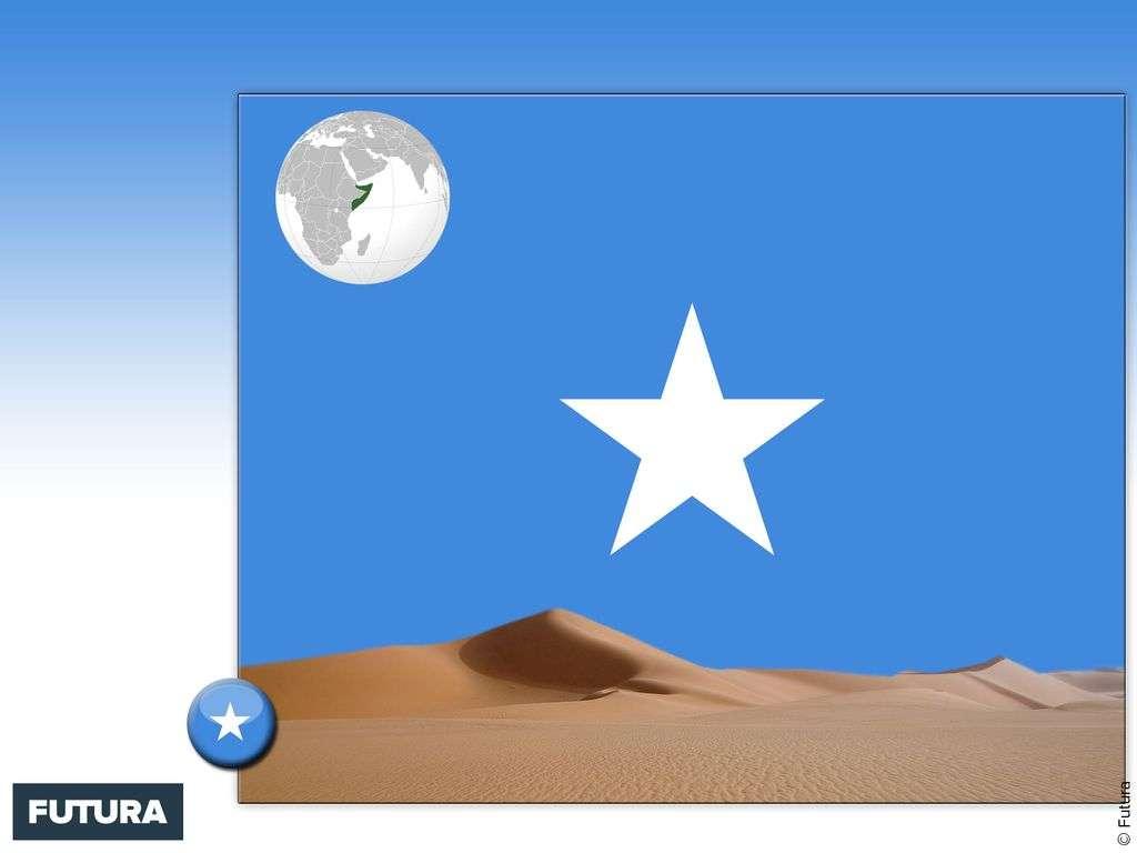 Drapeau : Somalie
