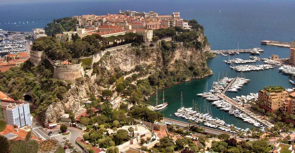 Vue du rocher de Monaco. © Georges Jansoone- CC BY 3.0