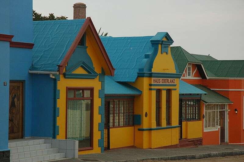 Lüderitz, une ville dans le sud de la Namibie