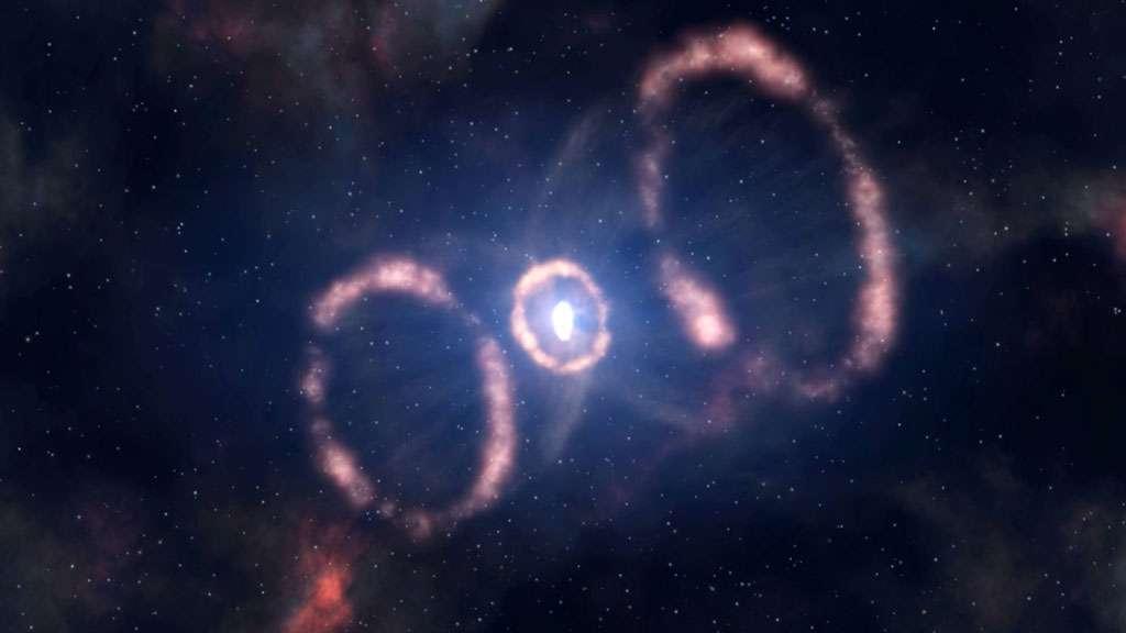 L'explosion d'une étoile à neutrons en supernova