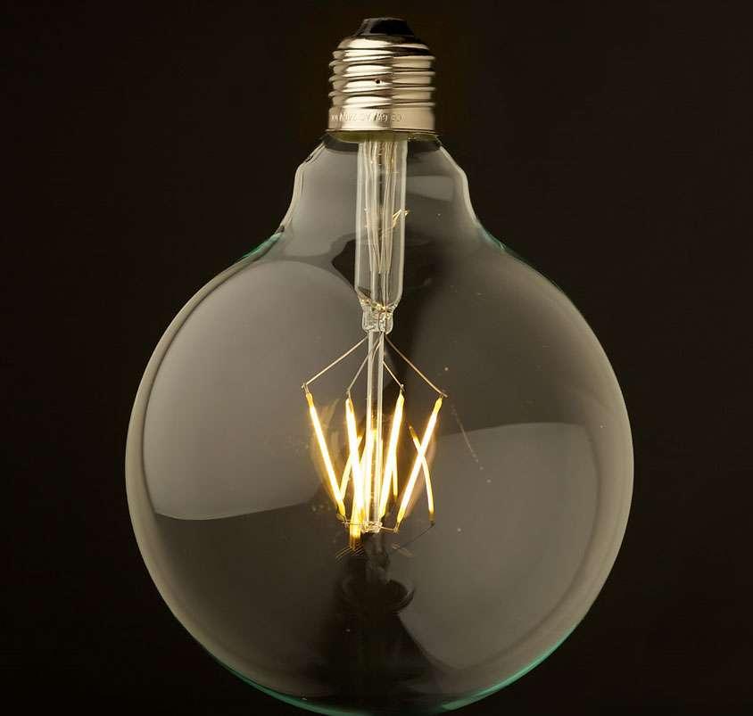 Une ampoule à LED dite « vintage ». © Monde Ampoule, Tous droits réservés