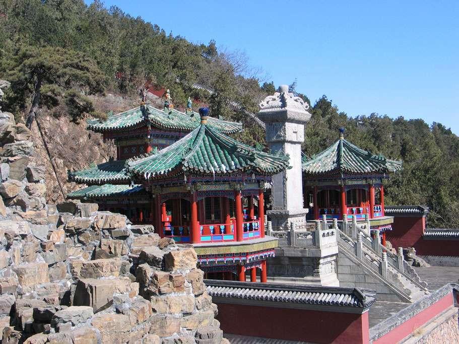 Le palais d'Été, à Pékin