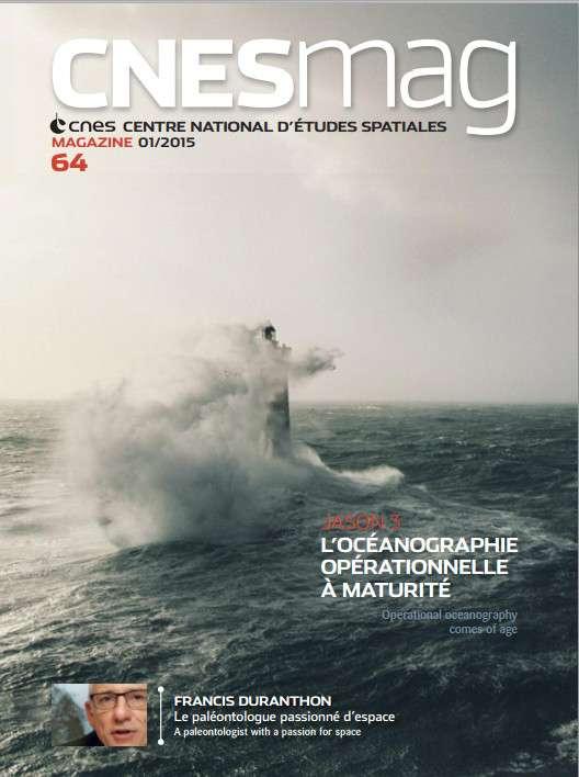Découvrez CnesMag, le magazine trimestriel du Cnes.