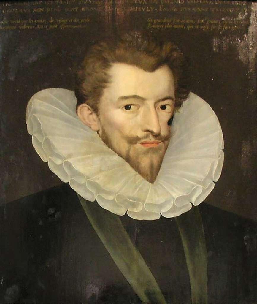 Portrait d'Henri de Guise dit « le Balafré », chef de file des catholiques intransigeants, vers 1580 ; auteur anonyme. Musée Carnavalet, Paris. © Domaine public.