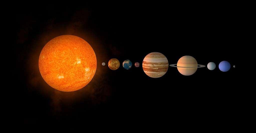 Système solaire. © Valera268268, Pixabay, DP