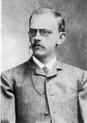 David Hilbert, photographié en 1886. Les célèbres problèmes de Hilbert, publiés en 1900, continuent pour certains de mettre les mathématiciens en échec. © DP