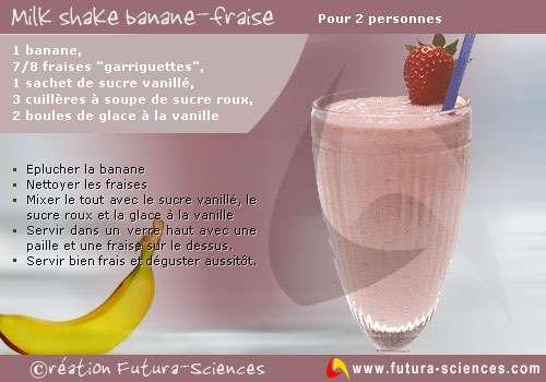 Milk shake rosé