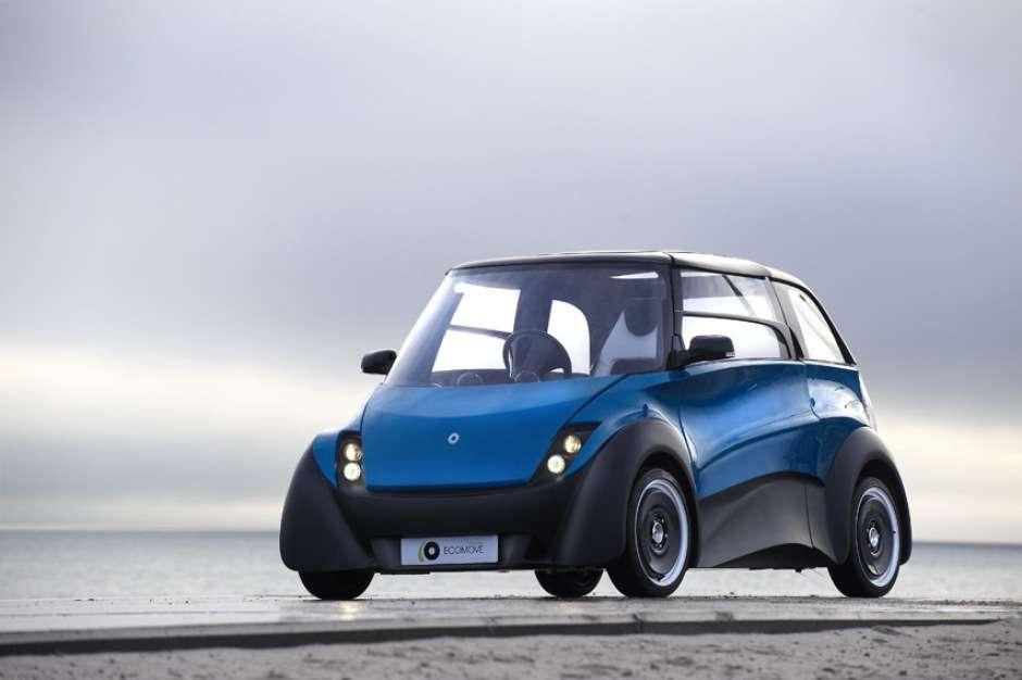 La QBeak électrique sera commercialisée à l'automne prochain au Danemark. Son constructeur, Ecomove, étudie une version à pile à combustible. © Ecomove
