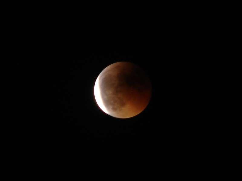 Faire ses premières images d'éclipse avec un appareil compact bridge : pari réussi pour Shinjii. © Shinjii