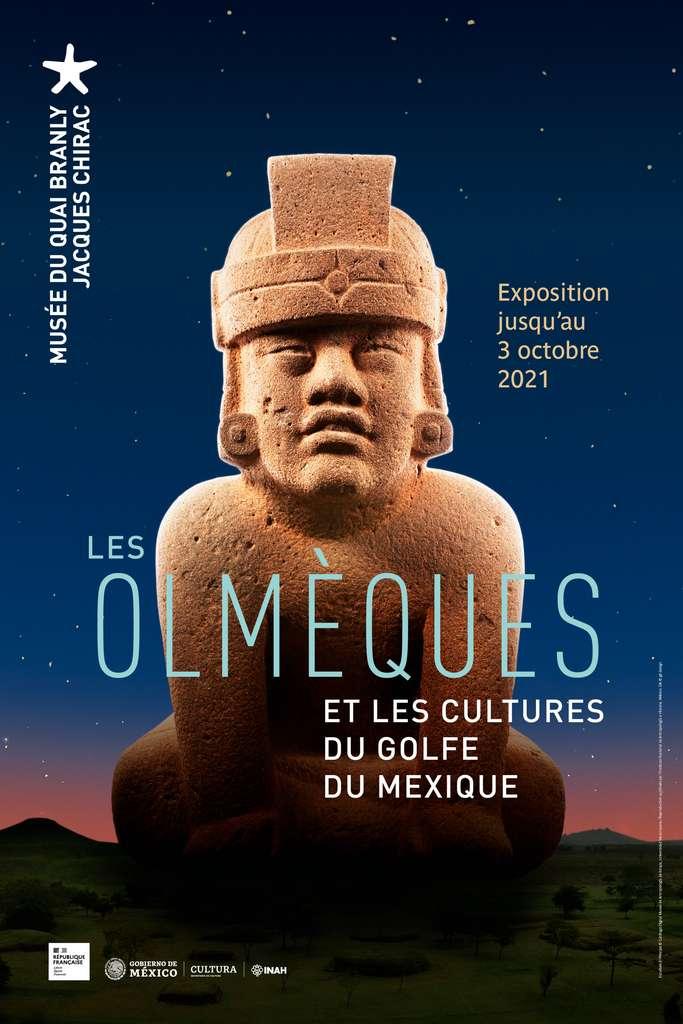 Exposition « Les Olmèques et les cultures du golfe du Mexique », jusqu'au 3 Octobre 2021 au musée du quai Branly - Jacques Chirac. © Musée du quai Branly - Jacques Chirac