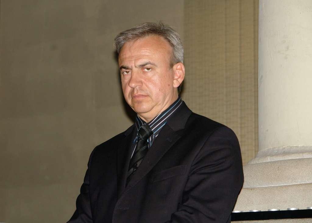 Le médecin Youri Bandajevsky est un opposant au gouvernement biélorusse qui dénonce les conséquences de Tchernobyl sur les populations. Son emprisonnement a suscité une mobilisation internationale. © Wikipedia, GFDL