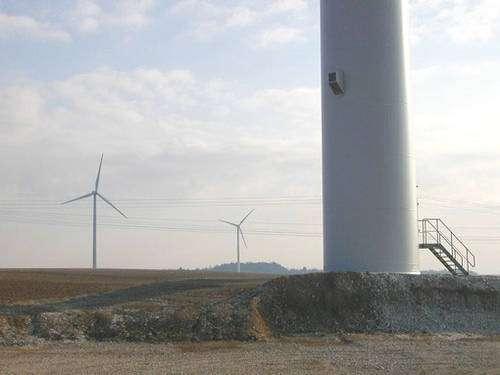 Quelques éoliennes