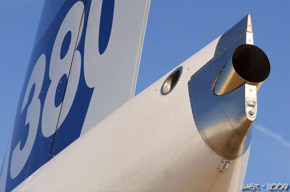 Arrière de l'A380