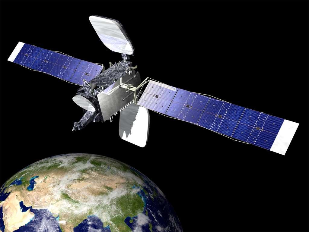 SES-8 sera positionné à 95° E aux côtés du satellite NSS-6. Il fournira des services de télécommunications au-dessus de la zone Asie-Pacifique. © Orbital Sciences